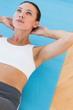 Bauchmuskel-training-abnehmen Stoffwechsel anregen und Fettverbrennung ankurbeln: so geht's!