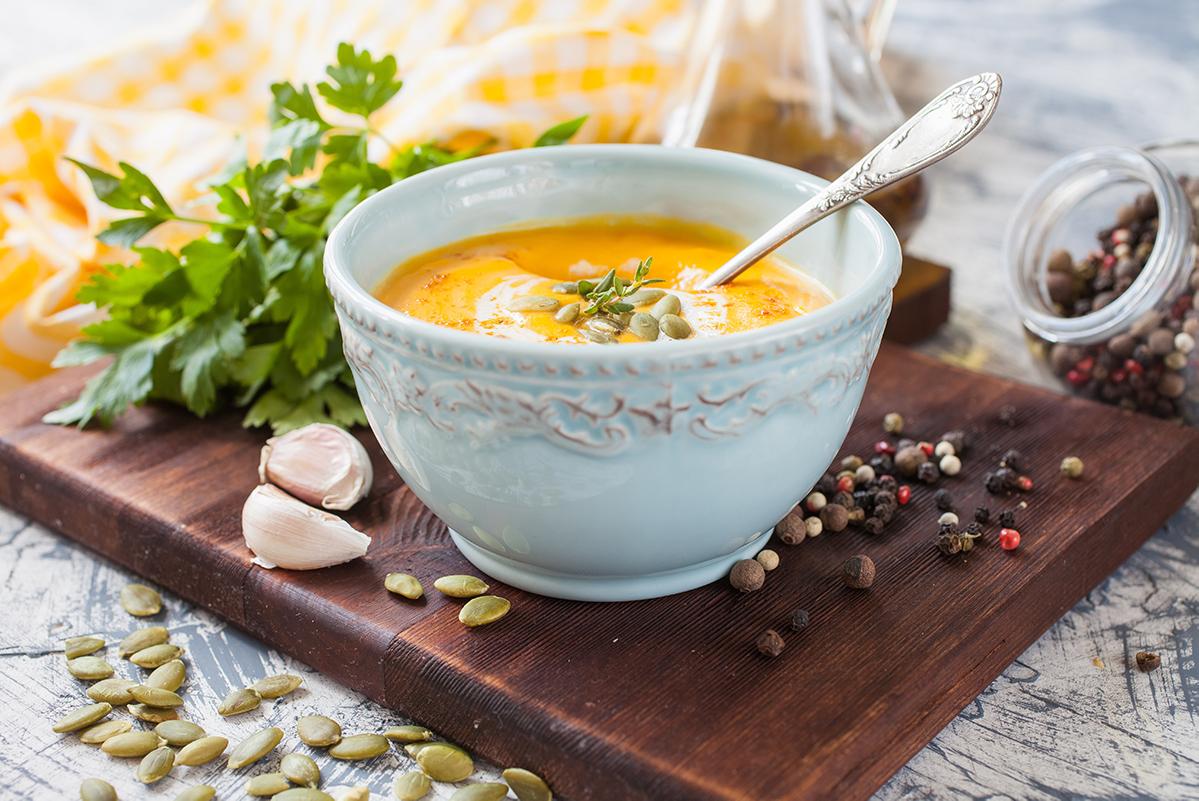 Low-Carb-Kürbis-Fenchel-Suppe Low Carb-Diät für Anfänger: Regeln, Rezepte & Informationen