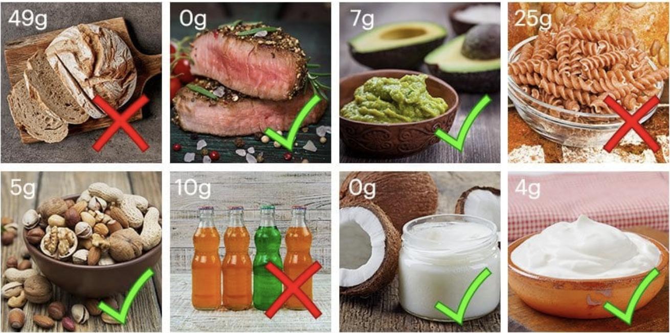 Low-Carb-Lebensmittel Low Carb-Diät für Anfänger: Regeln, Rezepte & Informationen