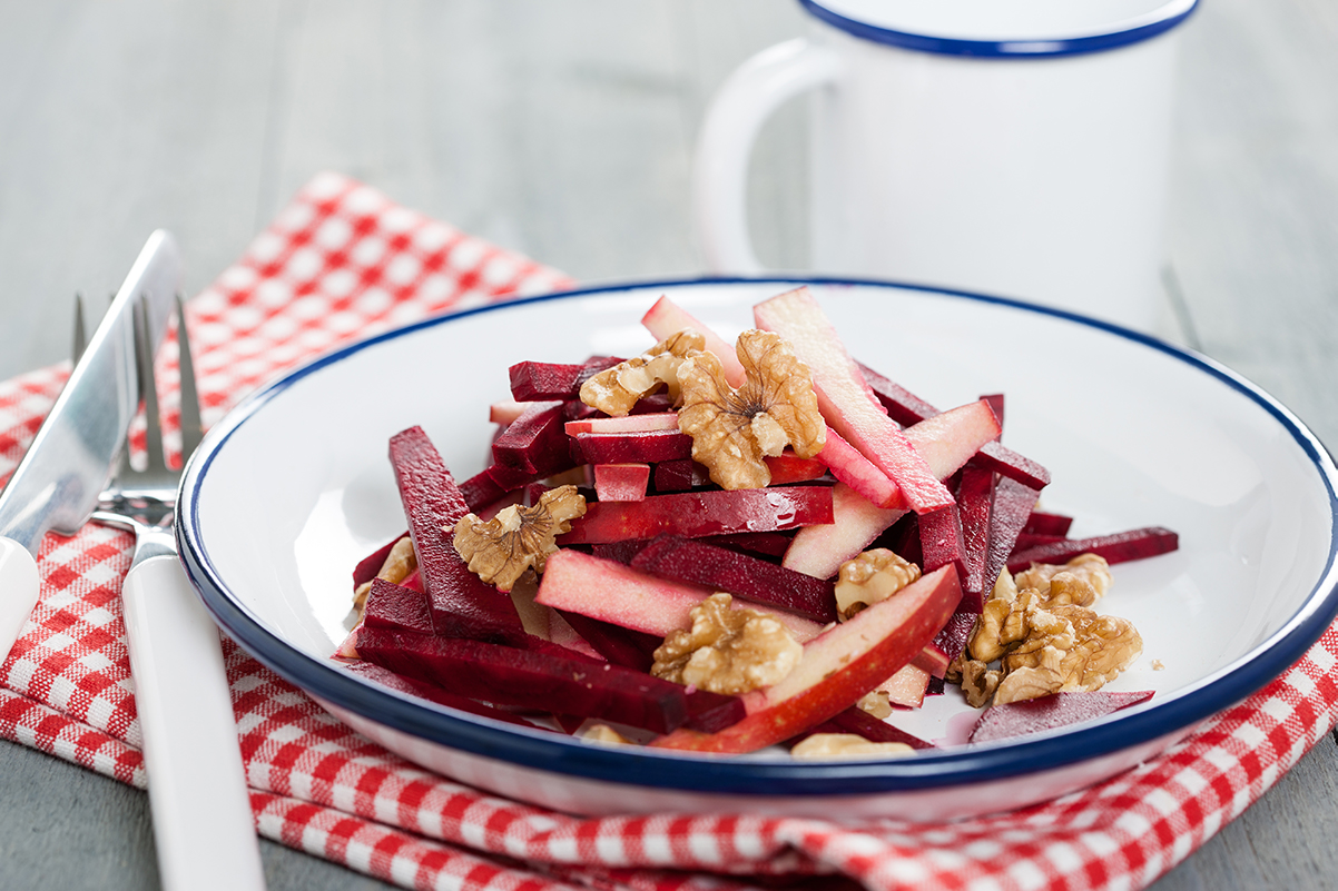 Low-Carb-Rote-Bete-Apfel-Salat Low Carb-Diät für Anfänger
