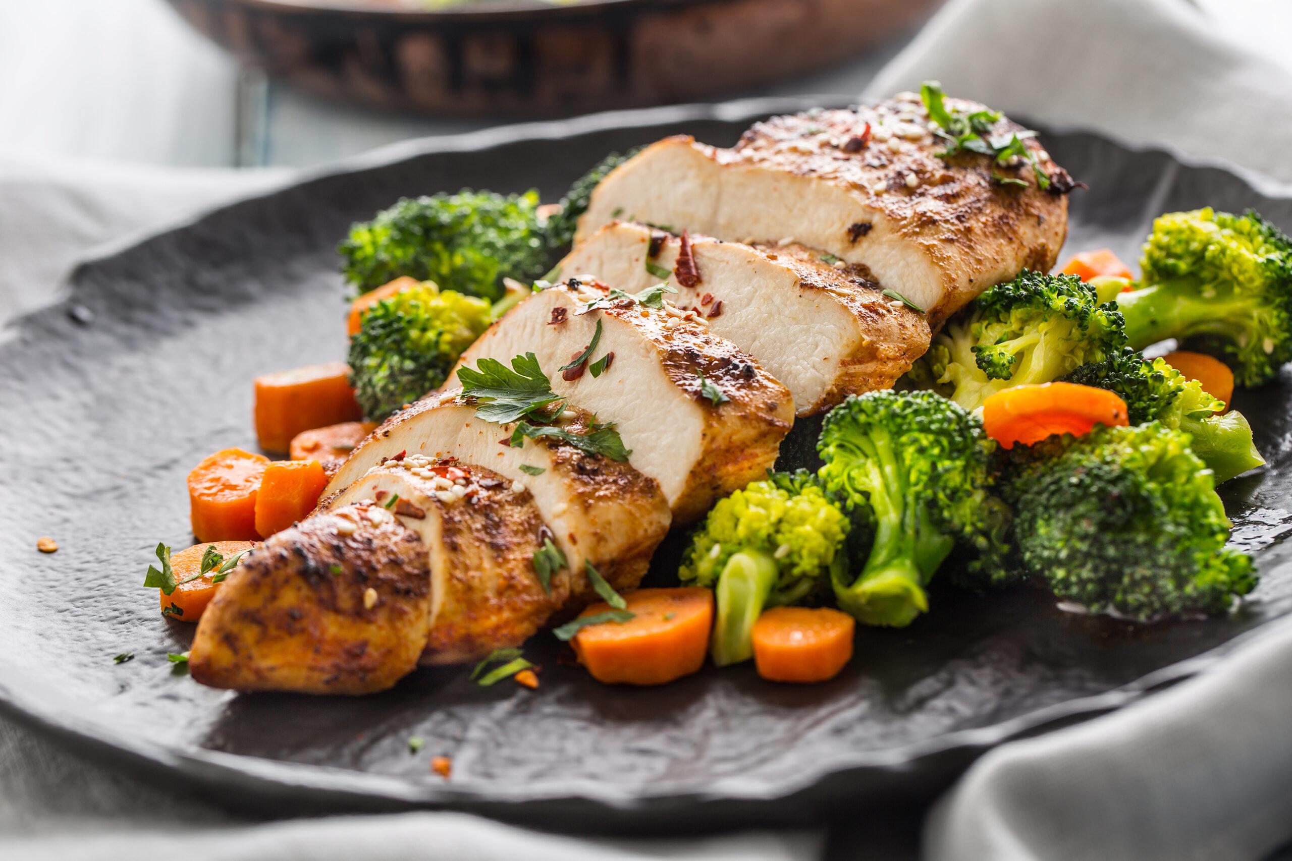 eiweiss-chicken-scaled Dauerhaft abnehmen mit der Eiweiß-Diät